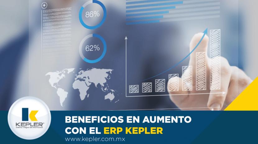 Beneficios en aumento con el ERP KEPLER