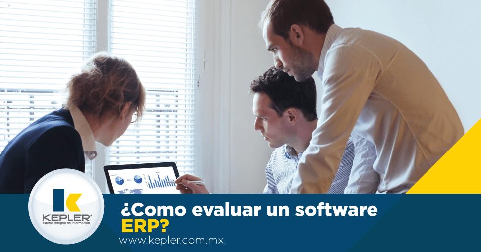 ¿Cómo evaluar un software ERP?