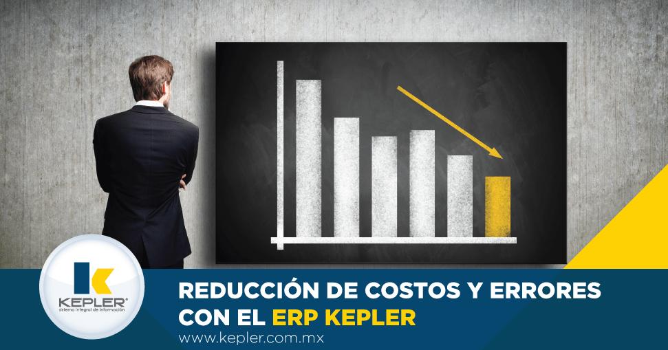 reducción de costos y errores con el ERP KEPLER