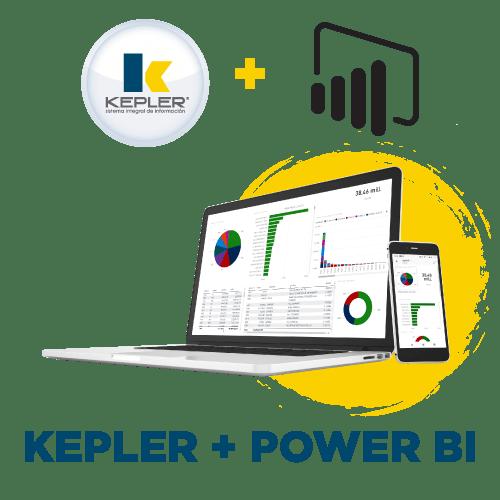 KEPLER + POWER BI