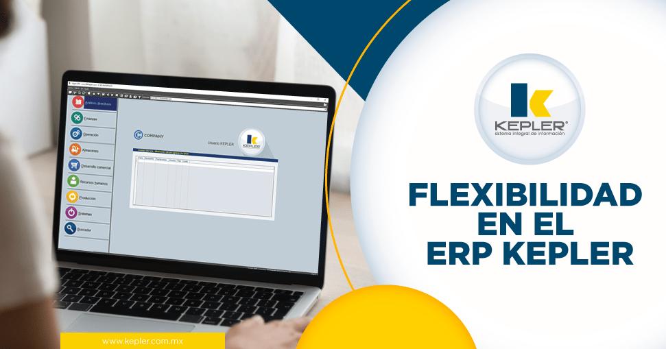 Flexibilidad en el ERP KEPLER